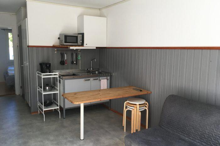 Vardagsrum med pentry